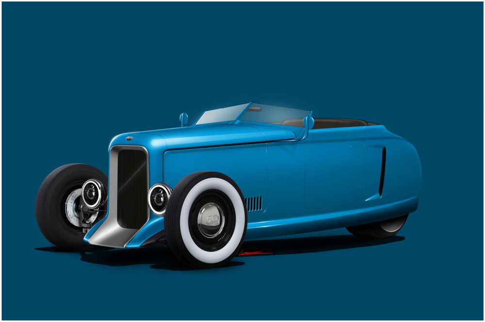 Autocycle Blue Mash Roadster