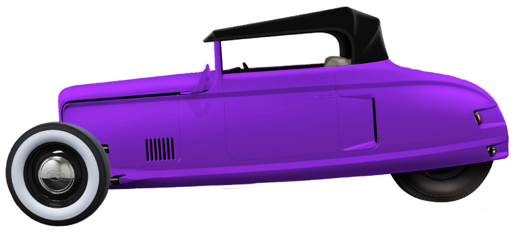 Convertible Purple