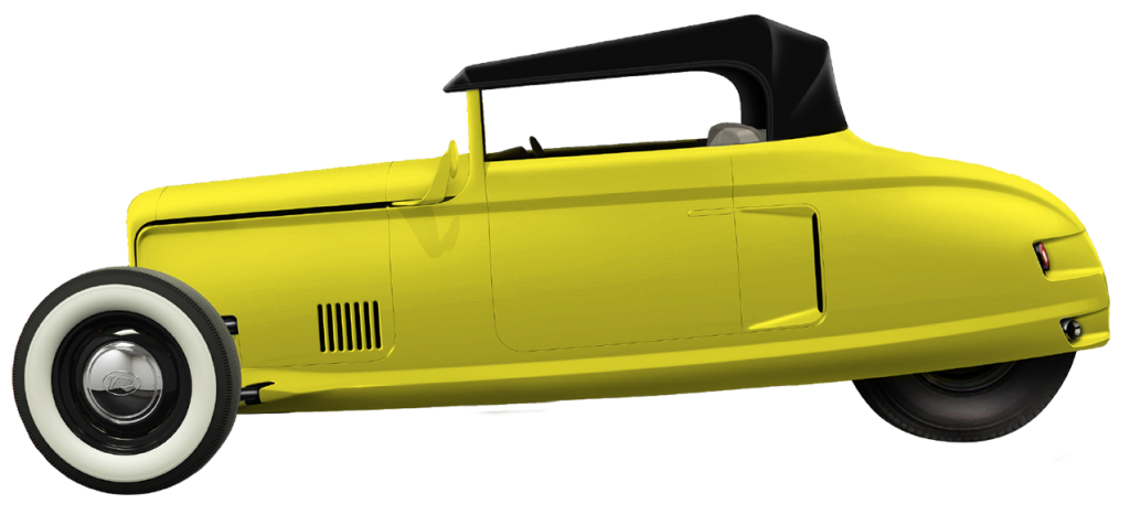 Convertible Yellow