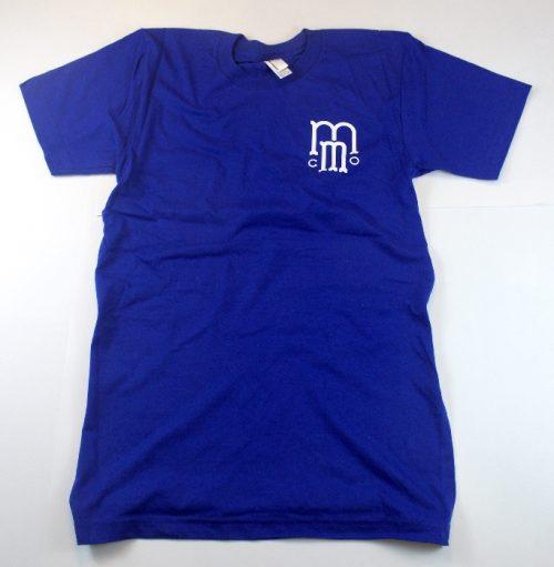 Mash Motor Company Small Logo Dark Blue T-shirt